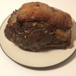 """Grassfed Beef Herb Roast for the article """"Real Food that Healed Me"""""""