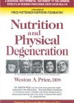 Cover of Nutrition and Physical Degeneration by Weston A. Price, DDS