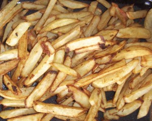 Old Fashioned French Fries from page 198 of the cookbook Tender Grassfed Meat.
