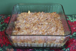 Goose Casserole from leftover nutrient dense, naturally-raised goose