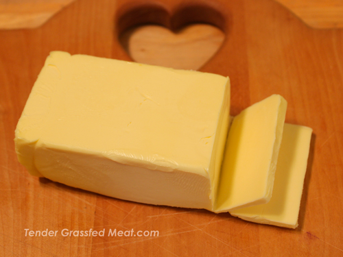 Pastured butter is a great way to get healthy animal fat.