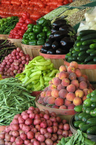 Farmers' markets are great places to find heirloom fruits and vegetables.