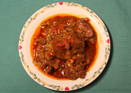 Beef Cheek Stew—melt in your mouth goodness.
