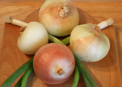 Onions—Earth's favorite vegetable.